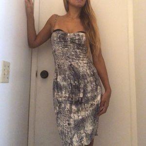 Marciano Silk bodycon dress size 4 set of 2
